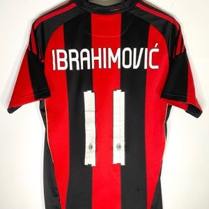 👑 Adidas AC Milan #11 Ibrahimovic 10/11 Home Kit